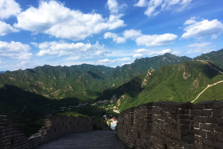Sunset over the Huanghuacheng Great Wall, 2019/06/09 photo #1