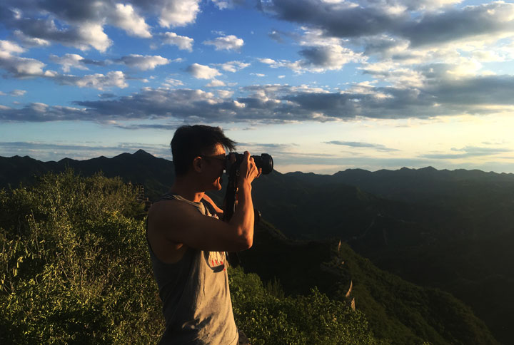 Sunset over the Huanghuacheng Great Wall, 2019/06/09 photo #5
