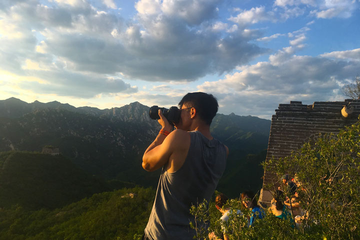 Sunset over the Huanghuacheng Great Wall, 2019/06/09 photo #7
