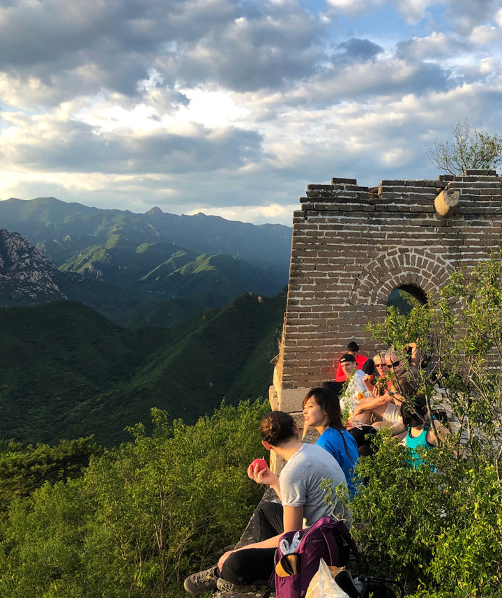 Sunset over the Huanghuacheng Great Wall, 2019/06/09 photo #10