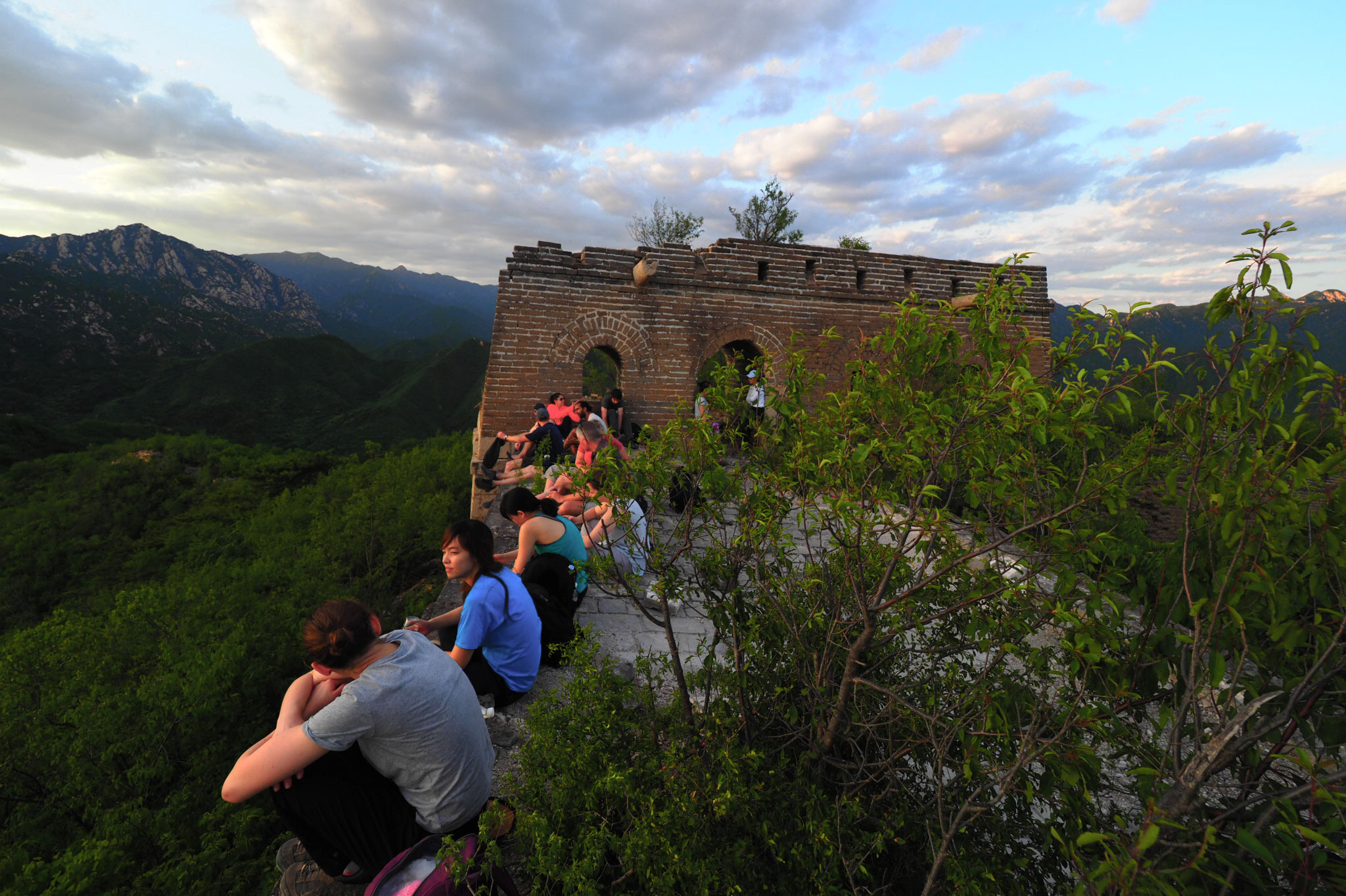 Sunset over the Huanghuacheng Great Wall, 2019/06/09 photo #11