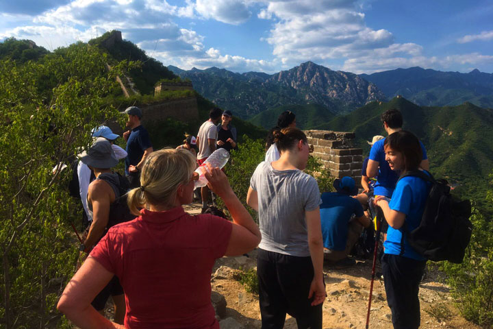 Sunset over the Huanghuacheng Great Wall, 2019/06/09 photo #18