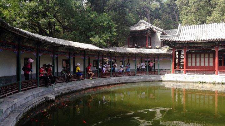 Explore Xiangshan 'Fragrant Hills': the Imperial Mountainous Garden and I.M. Pei's Xiangshan Hotel, 20190721 photo #15