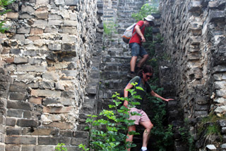 Huanghuacheng Great Wall to the Walled Village, 2019/07/27