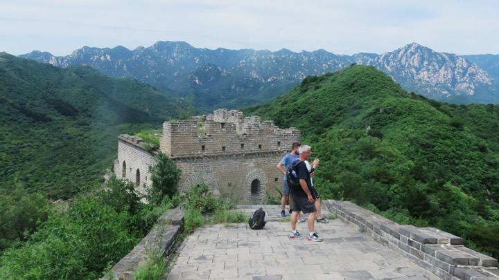 Great Wall: Huanghuacheng to the Walled Village, 2019/08/14 photo #6