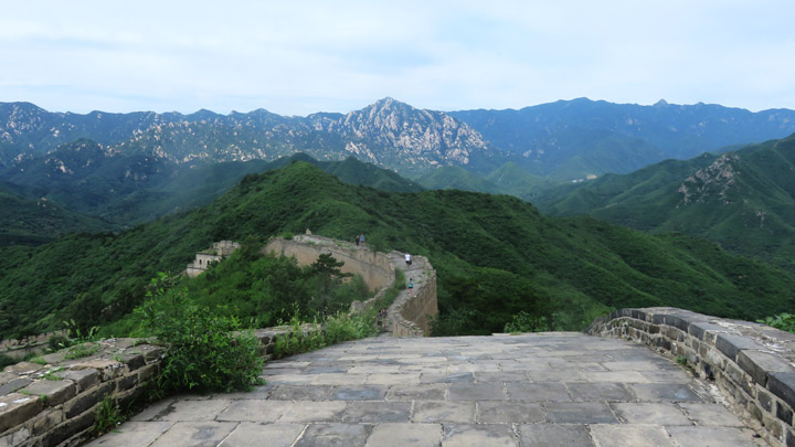 Great Wall: Huanghuacheng to the Walled Village, 2019/08/14 photo #8