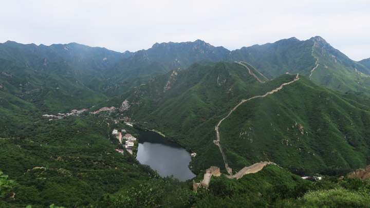 Great Wall: Huanghuacheng to the Walled Village, 2019/08/14 photo #9