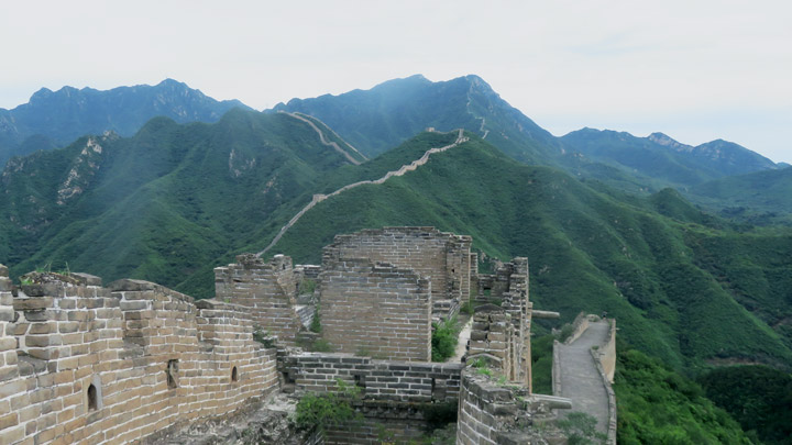 Great Wall: Huanghuacheng to the Walled Village, 2019/08/14