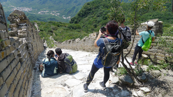 Jiankou to Mutianyu Great Wall, 2019/08/17 photo #13