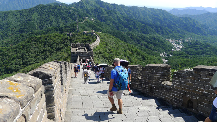 Jiankou to Mutianyu Great Wall, 2019/08/17 photo #21