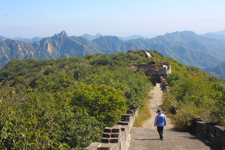 Jiankou to Mutianyu Great Wall, 2019/10/07 photo #9