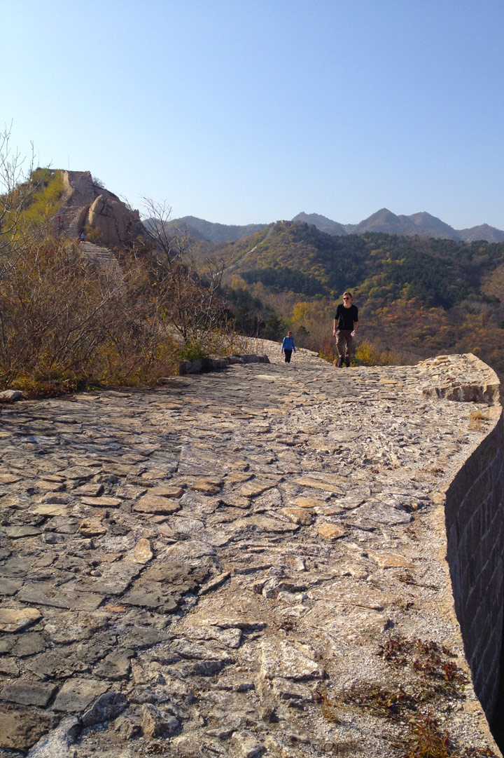 Longquanyu Great Wall to the Little West Lake, 2019/10/30 photo #7