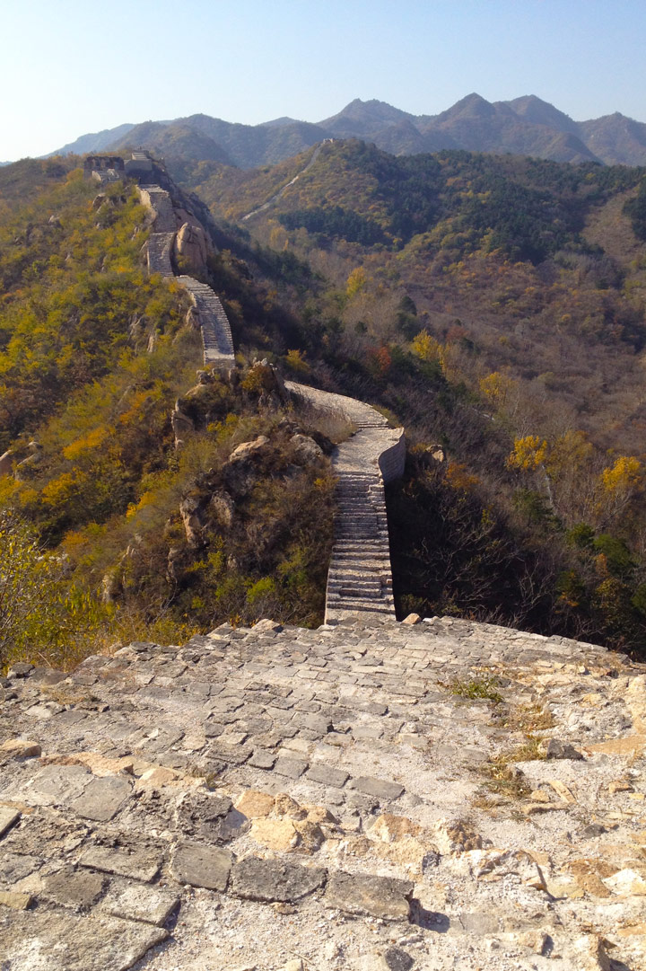 Longquanyu Great Wall to the Little West Lake, 2019/10/30 photo #8