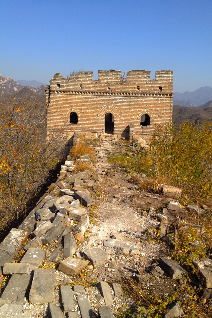Longquanyu Great Wall to the Little West Lake, 2019/10/30 photo #11