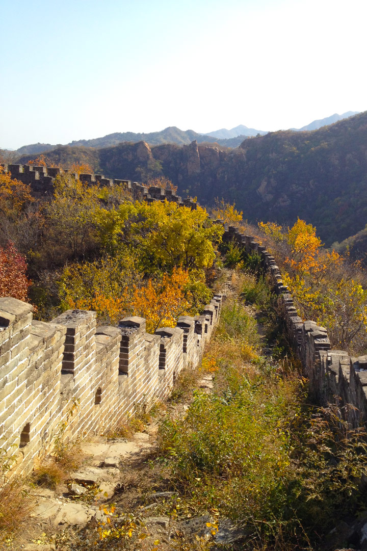 Longquanyu Great Wall to the Little West Lake, 2019/10/30 photo #12