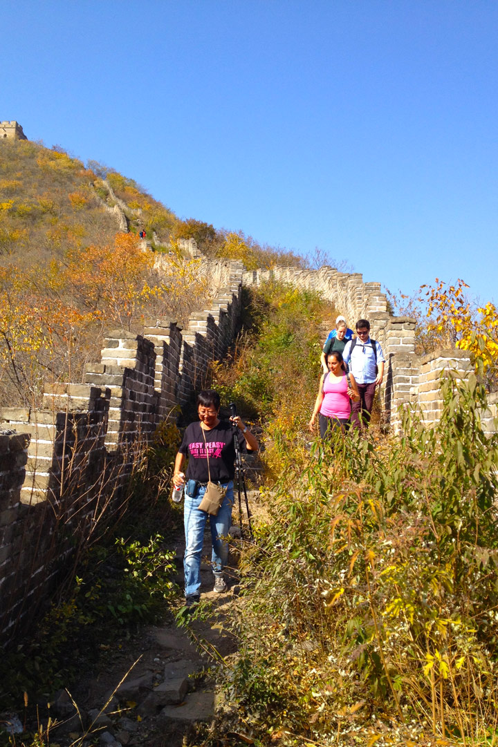 Longquanyu Great Wall to the Little West Lake, 2019/10/30 photo #13