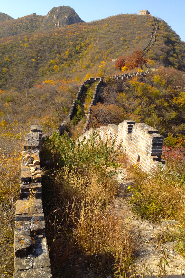 Longquanyu Great Wall to the Little West Lake, 2019/10/30 photo #14