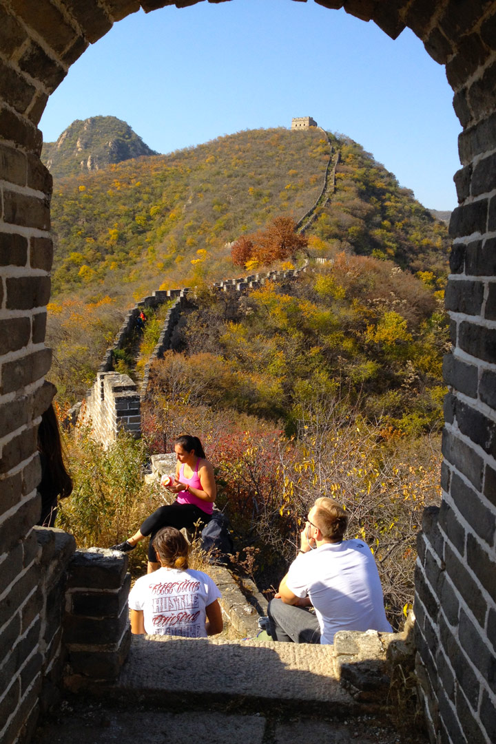 Longquanyu Great Wall to the Little West Lake, 2019/10/30 photo #15