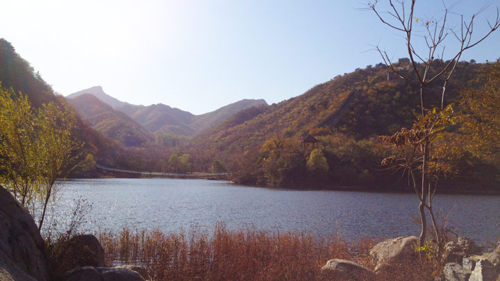 Longquanyu Great Wall to the Little West Lake, 2019/10/30