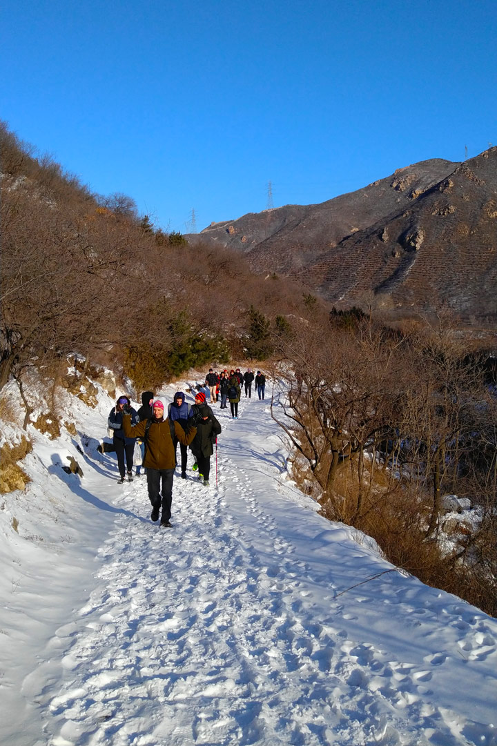 Stone Valley Great Wall Loop, 2019/12/01 photo #3