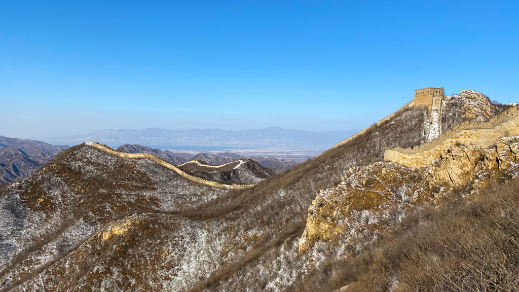 Stone Valley Great Wall Loop, 2019/12/01