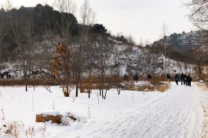 Hemp Village to Gubeikou Great Wall Christmas, 2019/12/25 photo #3