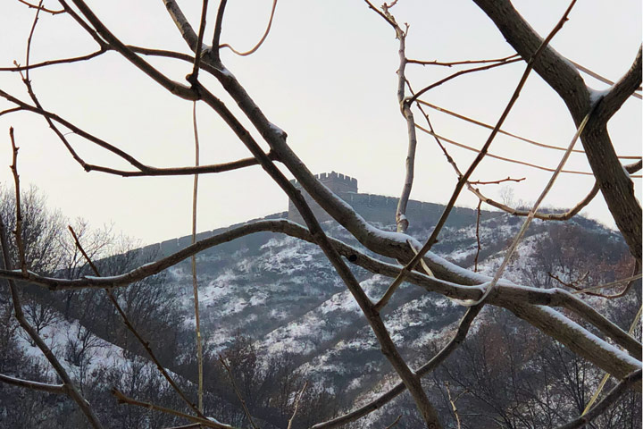 Hemp Village to Gubeikou Great Wall Christmas, 2019/12/25 photo #4