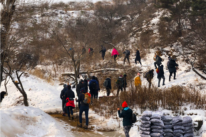 Hemp Village to Gubeikou Great Wall Christmas, 2019/12/25 photo #5