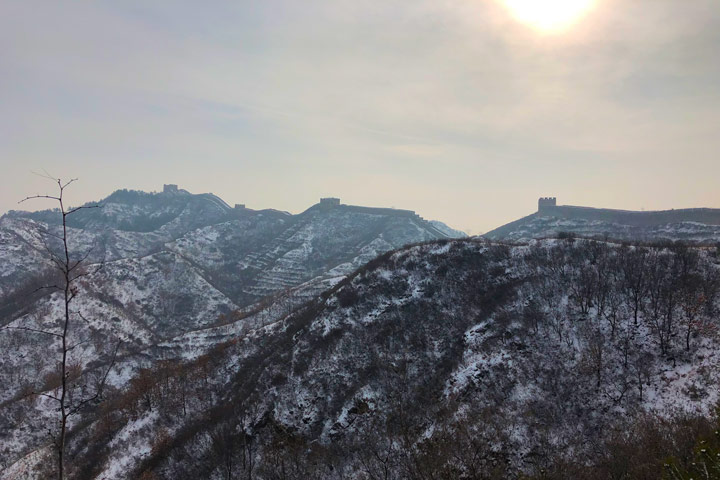 Hemp Village to Gubeikou Great Wall Christmas, 2019/12/25 photo #7