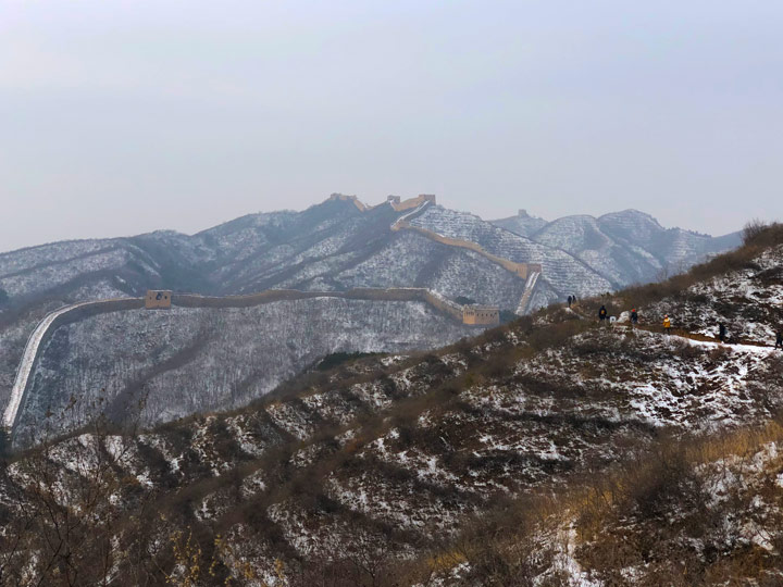 Hemp Village to Gubeikou Great Wall Christmas, 2019/12/25 photo #10