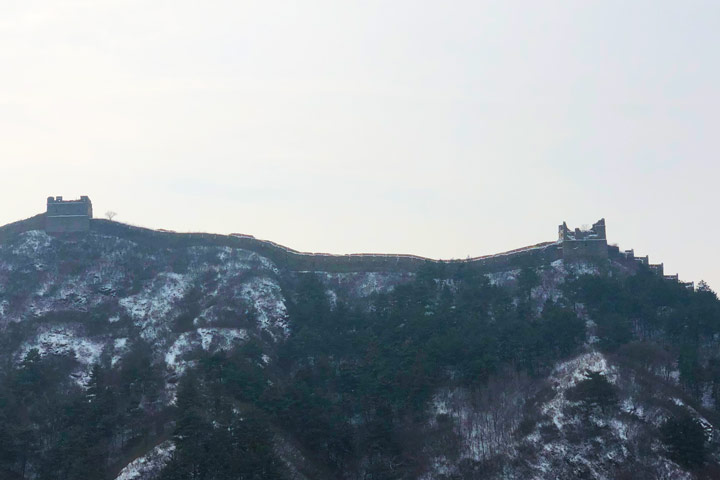 Hemp Village to Gubeikou Great Wall Christmas, 2019/12/25 photo #11