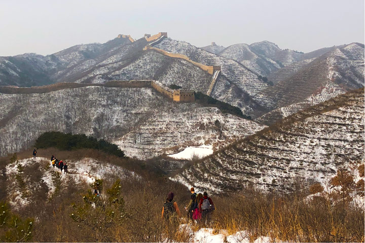 Hemp Village to Gubeikou Great Wall Christmas, 2019/12/25 photo #12