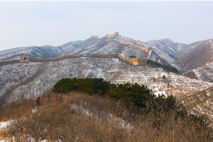 Hemp Village to Gubeikou Great Wall Christmas, 2019/12/25 photo #13