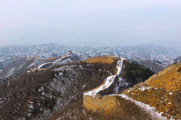 Hemp Village to Gubeikou Great Wall Christmas, 2019/12/25 photo #14