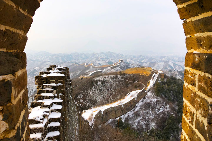 Hemp Village to Gubeikou Great Wall Christmas, 2019/12/25 photo #15