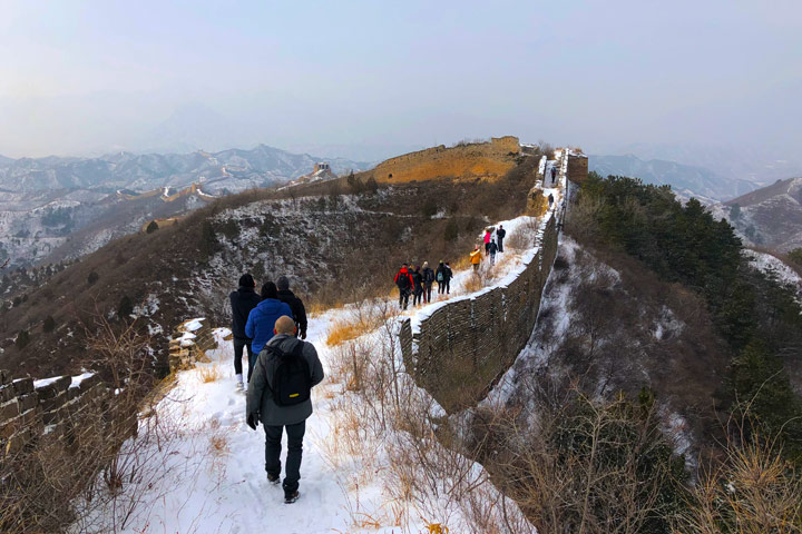 Hemp Village to Gubeikou Great Wall Christmas, 2019/12/25 photo #17