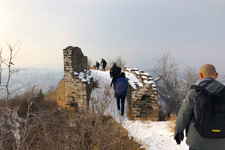 Hemp Village to Gubeikou Great Wall Christmas, 2019/12/25 photo #18