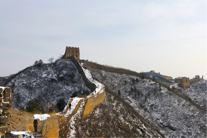 Hemp Village to Gubeikou Great Wall Christmas, 2019/12/25 photo #19
