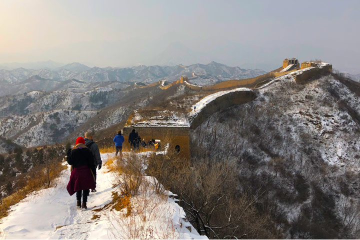 Hemp Village to Gubeikou Great Wall Christmas, 2019/12/25 photo #20