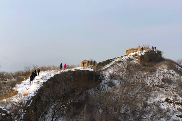 Hemp Village to Gubeikou Great Wall Christmas, 2019/12/25 photo #21