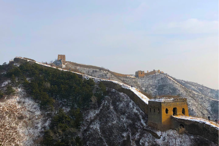 Hemp Village to Gubeikou Great Wall Christmas, 2019/12/25 photo #22