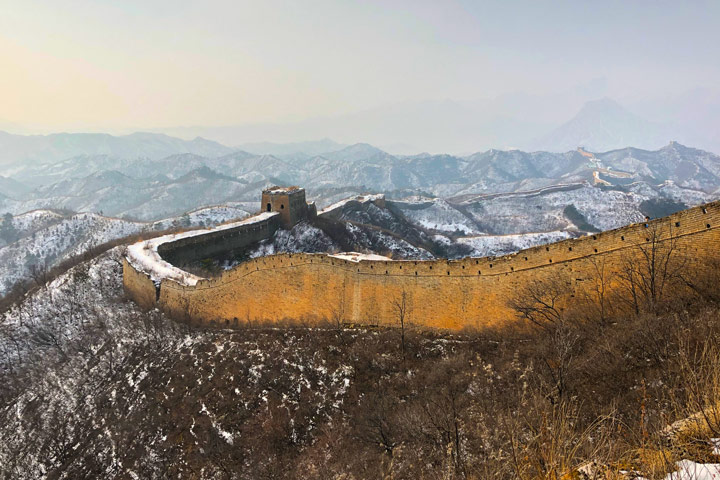 Hemp Village to Gubeikou Great Wall Christmas, 2019/12/25 photo #23