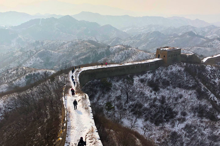 Hemp Village to Gubeikou Great Wall Christmas, 2019/12/25 photo #24