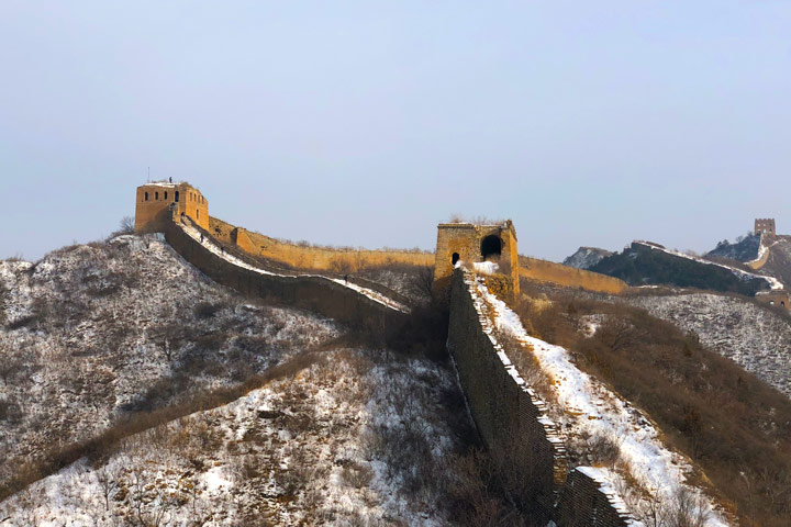 Hemp Village to Gubeikou Great Wall Christmas, 2019/12/25 photo #25