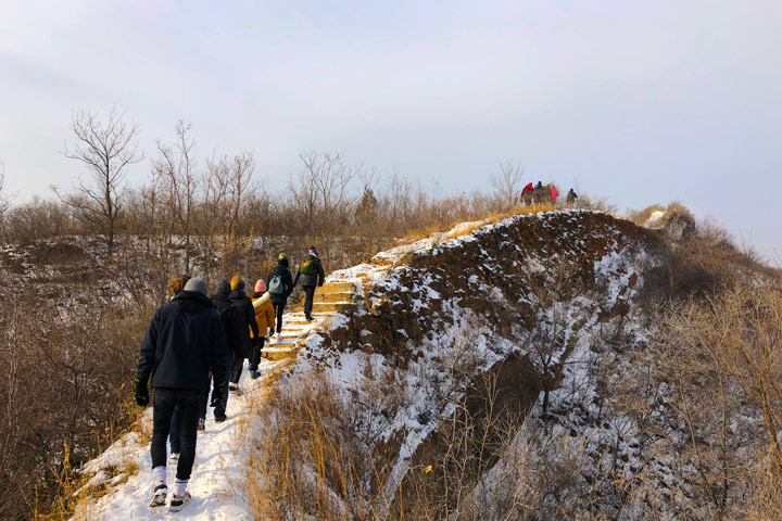 Hemp Village to Gubeikou Great Wall Christmas, 2019/12/25 photo #26