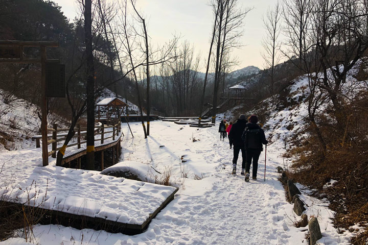 Hemp Village to Gubeikou Great Wall Christmas, 2019/12/25 photo #29