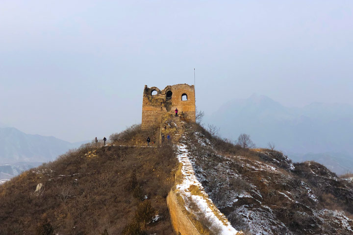 Hemp Village to Gubeikou Great Wall Christmas, 2019/12/25 photo #31