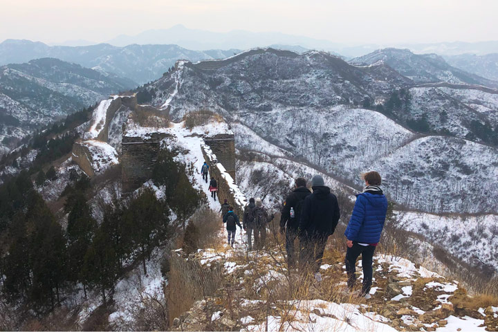 Hemp Village to Gubeikou Great Wall Christmas, 2019/12/25 photo #32