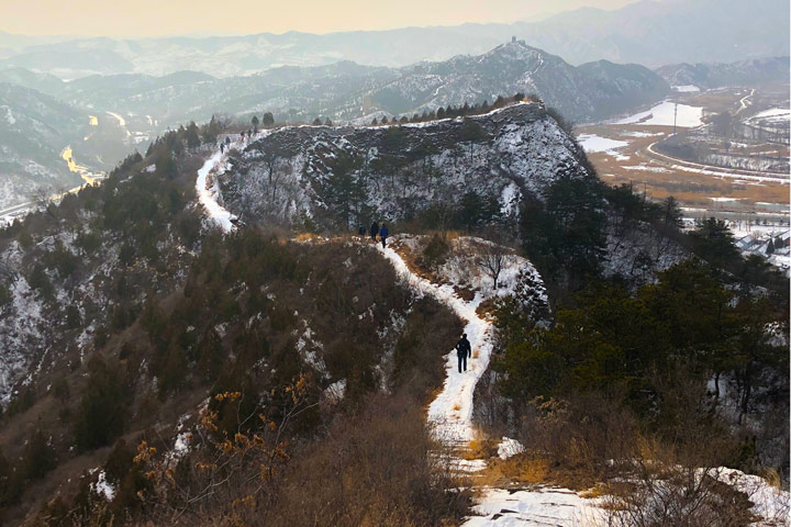 Hemp Village to Gubeikou Great Wall Christmas, 2019/12/25 photo #34