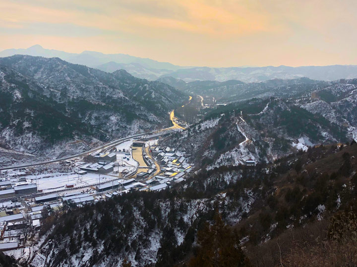 Hemp Village to Gubeikou Great Wall Christmas, 2019/12/25 photo #35